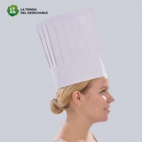 Gorro papel chef 10uds